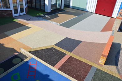 Multiple surfaces for paving