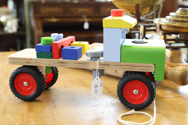 Wooden Truck Toy - £5