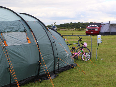 A safe place to camp in Suffolk