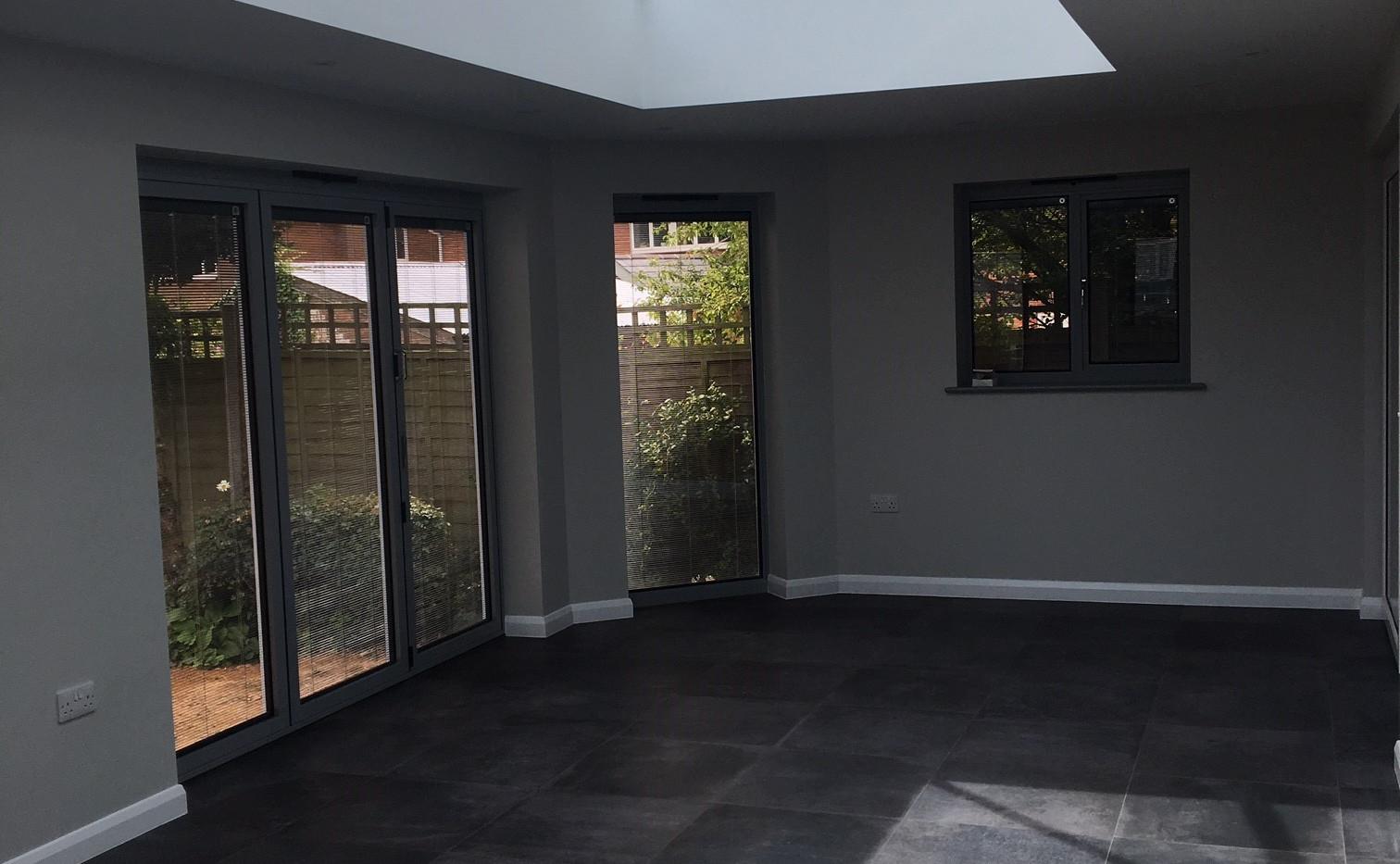 Lantern Roof & Tiled Flooring