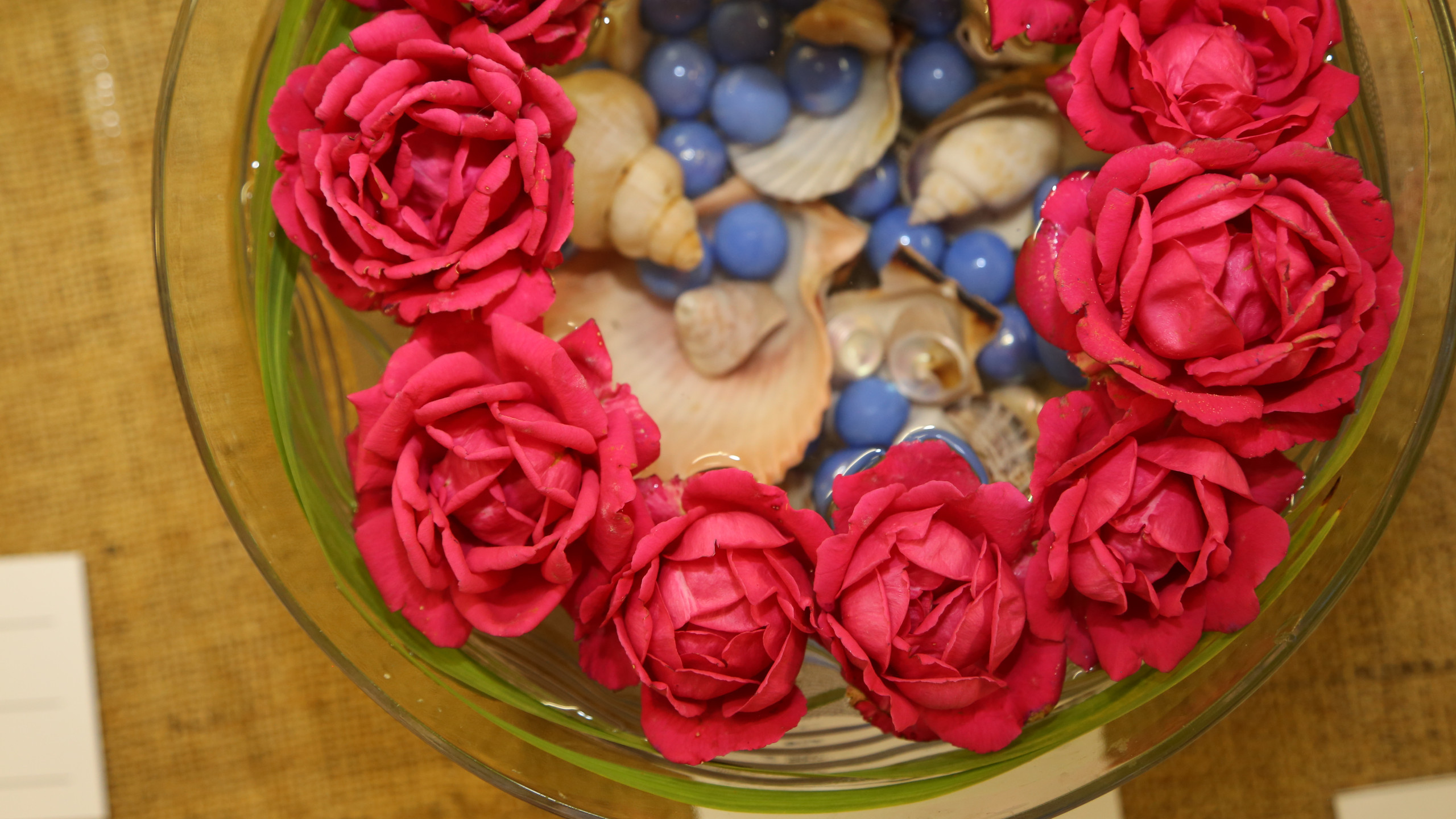 flowers in a bowl 2