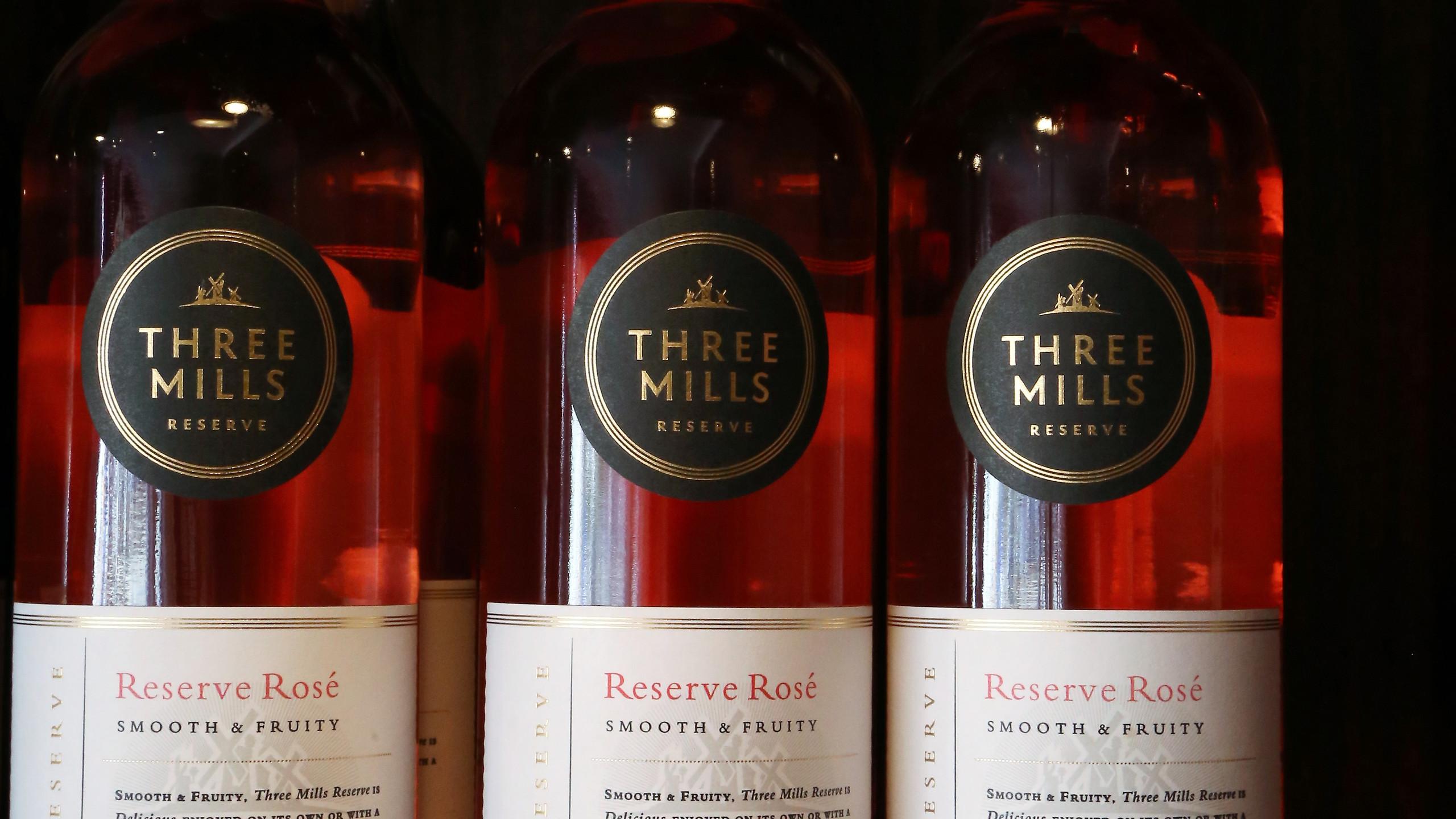 Three MIlls reserve Rose
