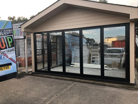 New conservatory showroom area