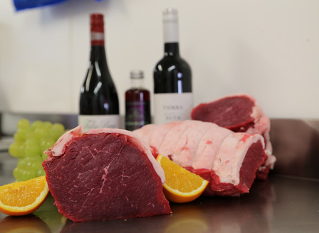 Special offer on beef topside - save 25%