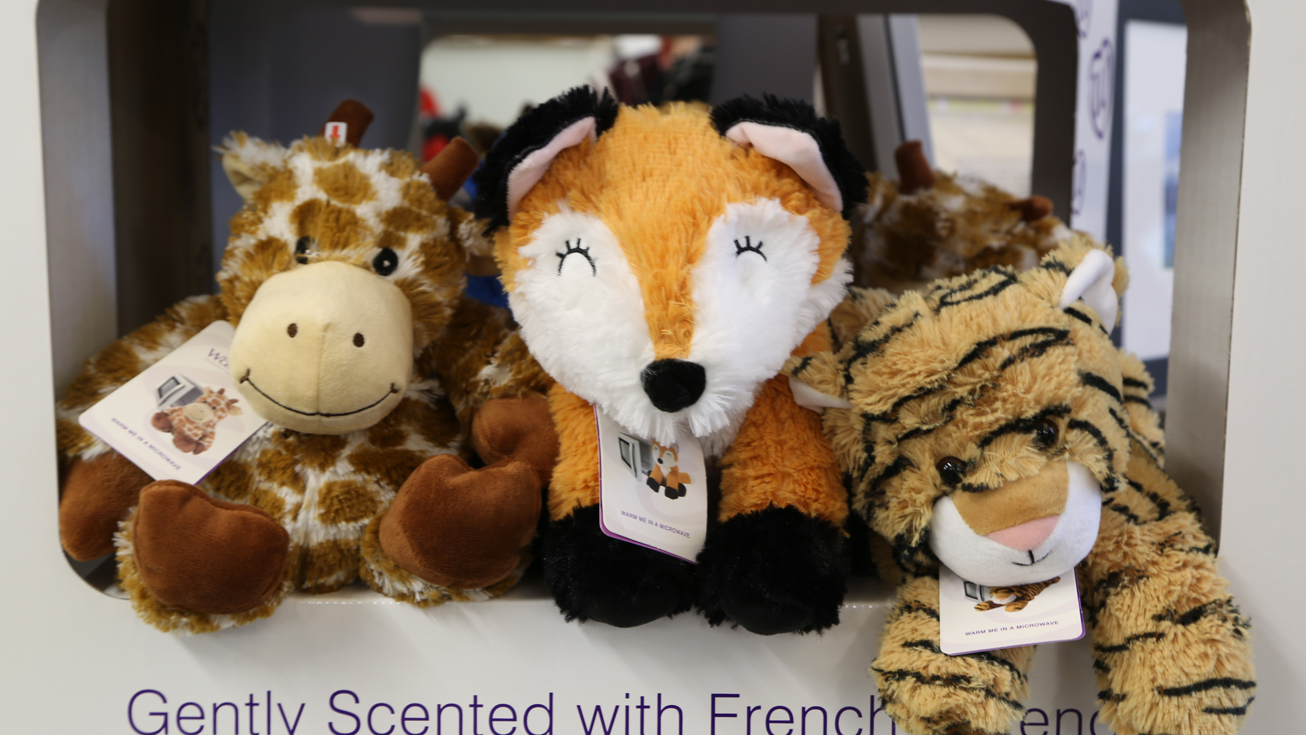 Scented cuddly toys