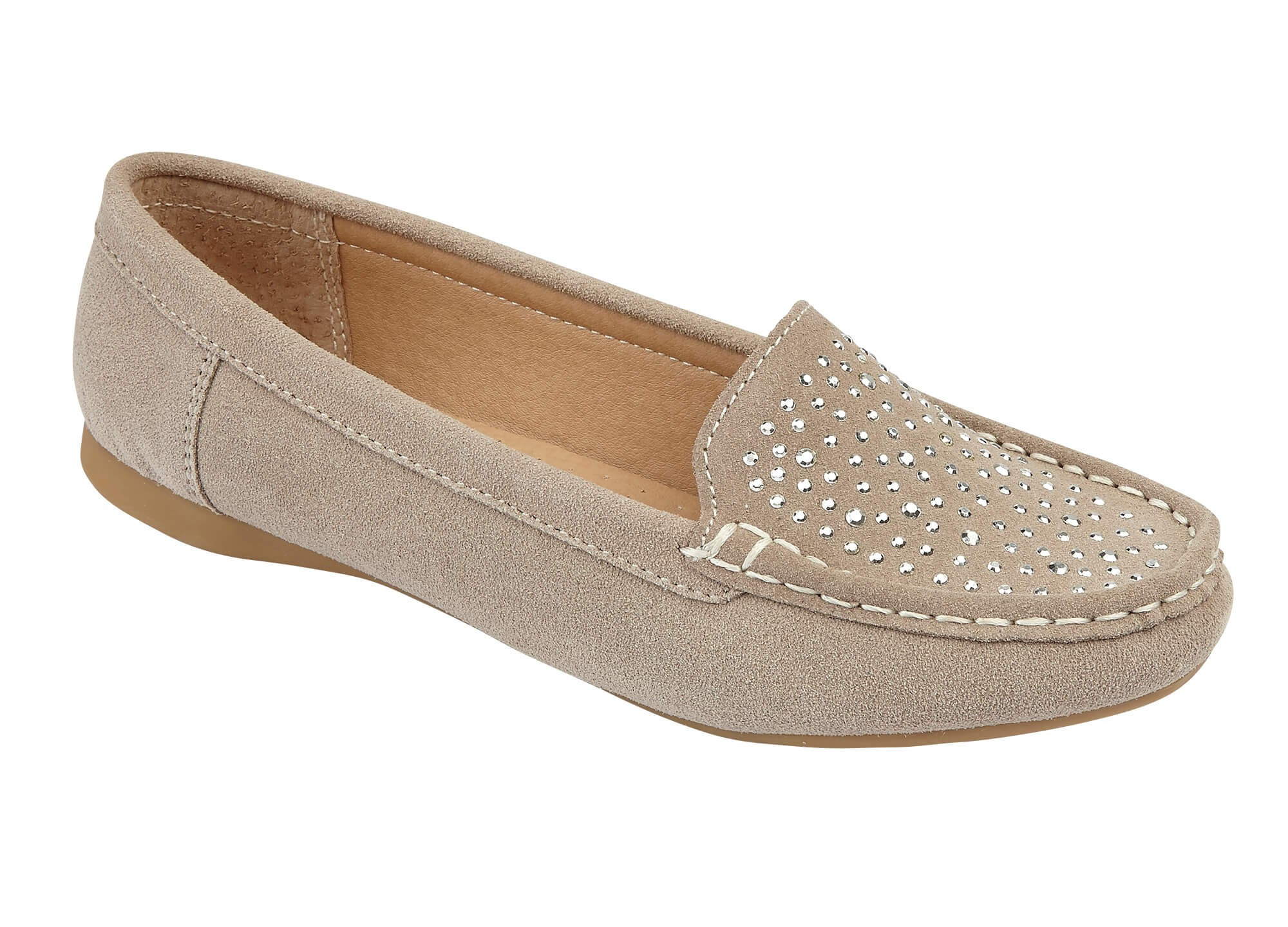 Azora Taupe Loafer £42