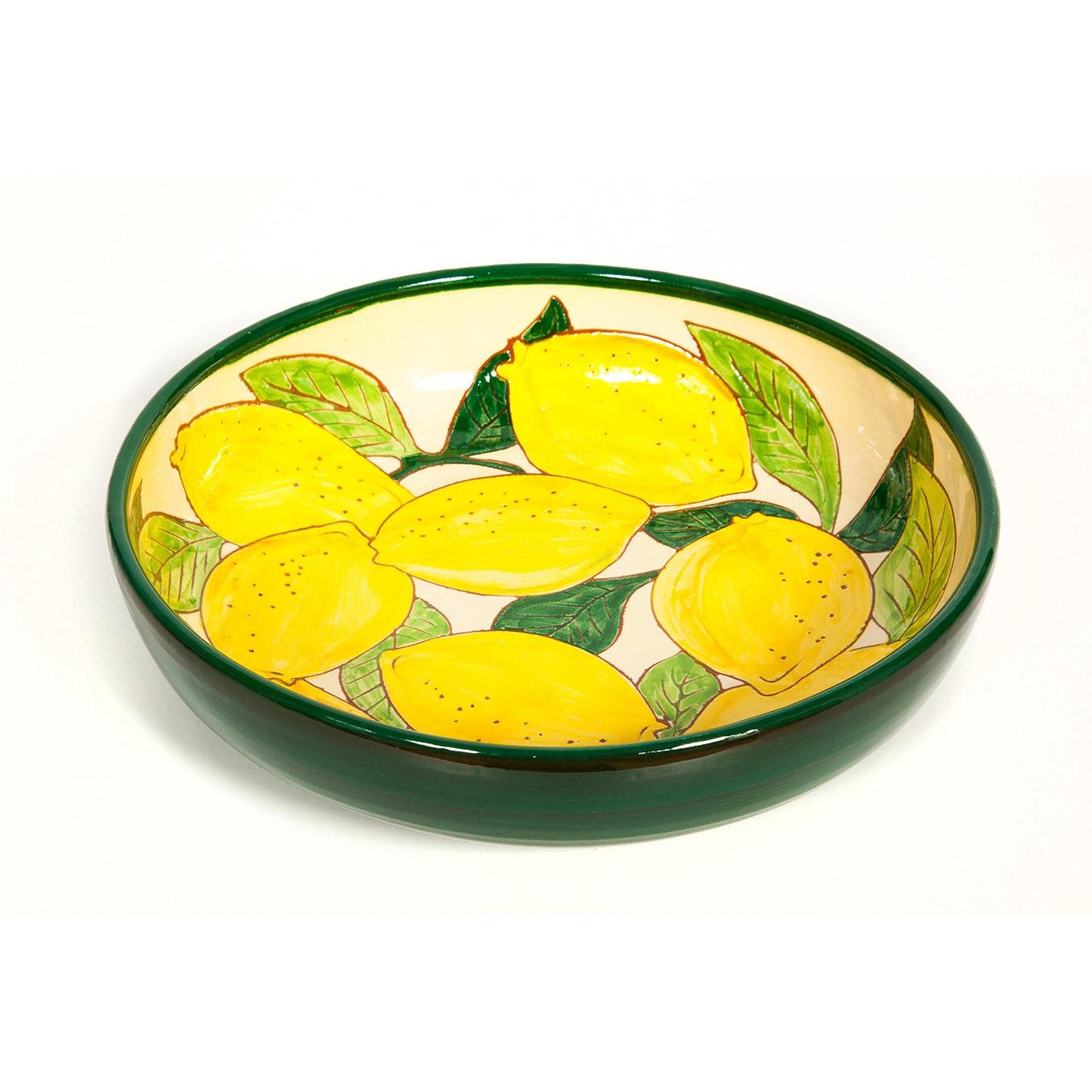 Spanish Ceramic Lemons Dish