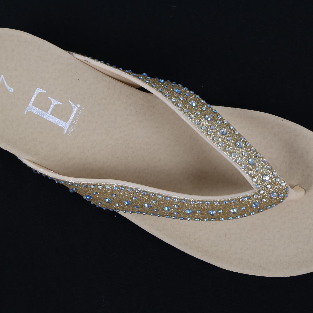 Gold Sandals
