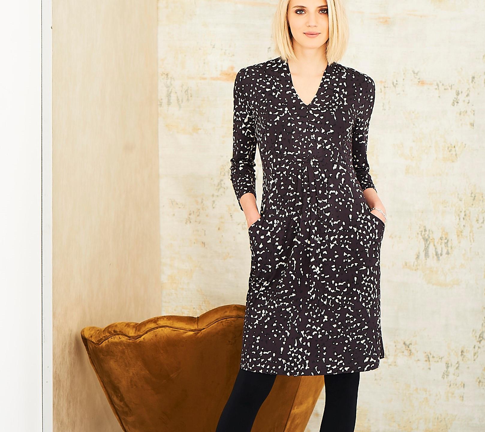 Adini Lapwing Dress Charcoal £80