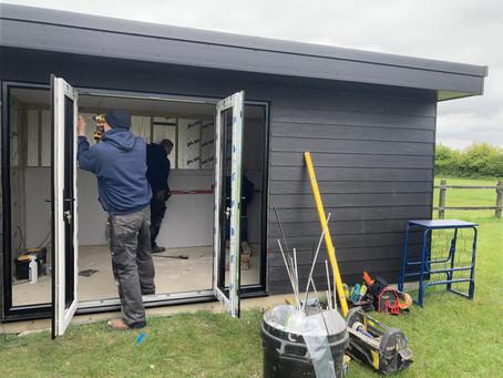 New Garden Office at Campsea Ashe, near Wickham Market