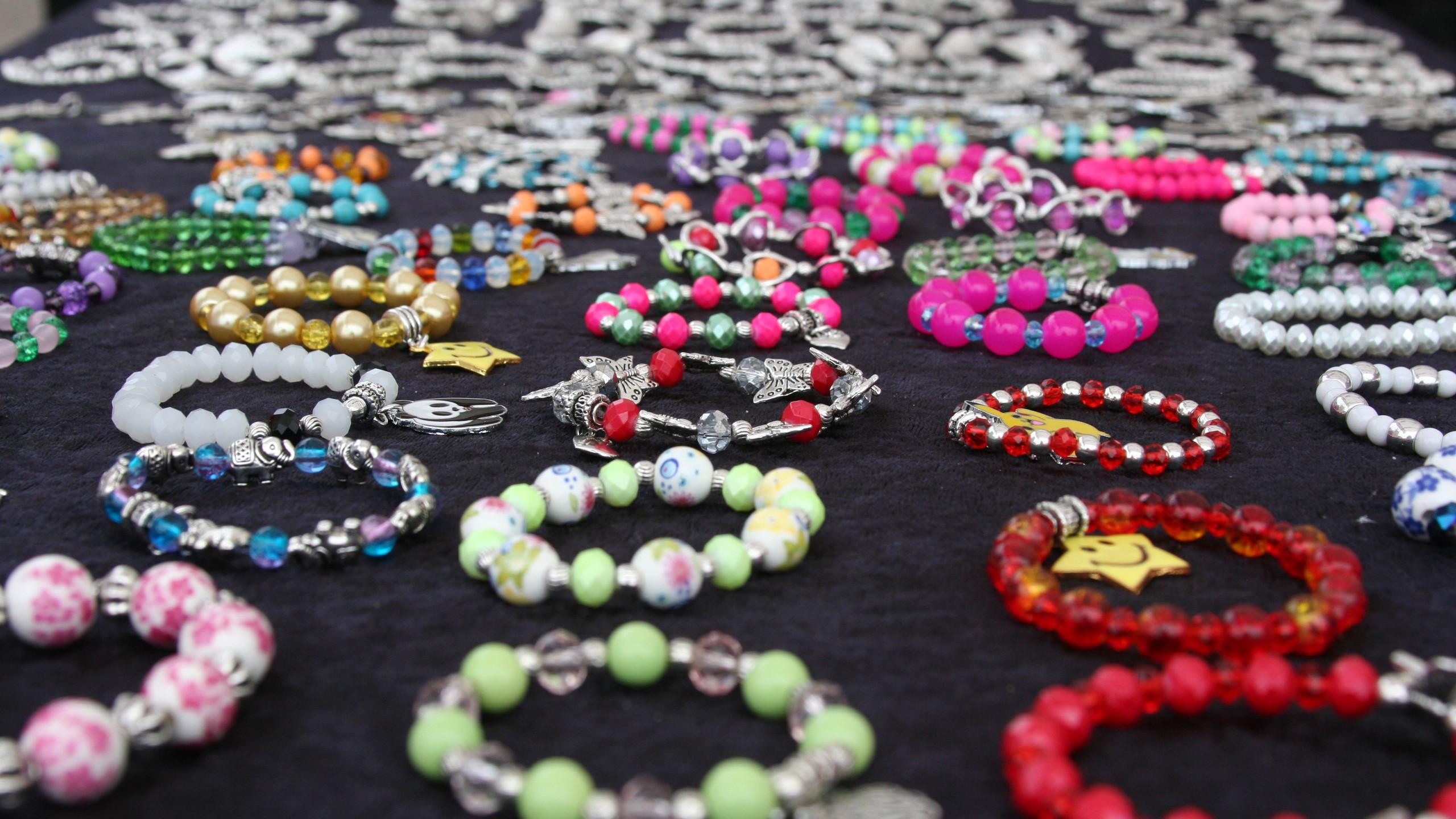 Jewellery on the market
