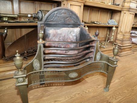 Adams style fire basket - £750