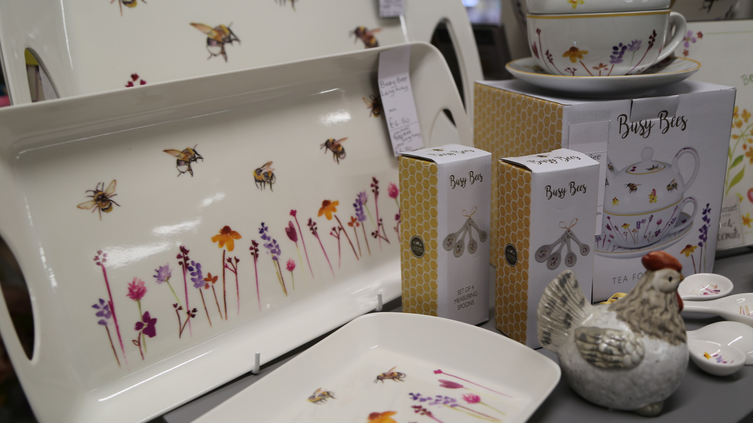 A selection from Busy Bees