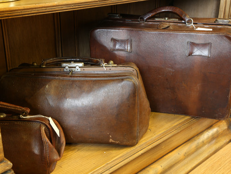 A selection of leather bags from £125