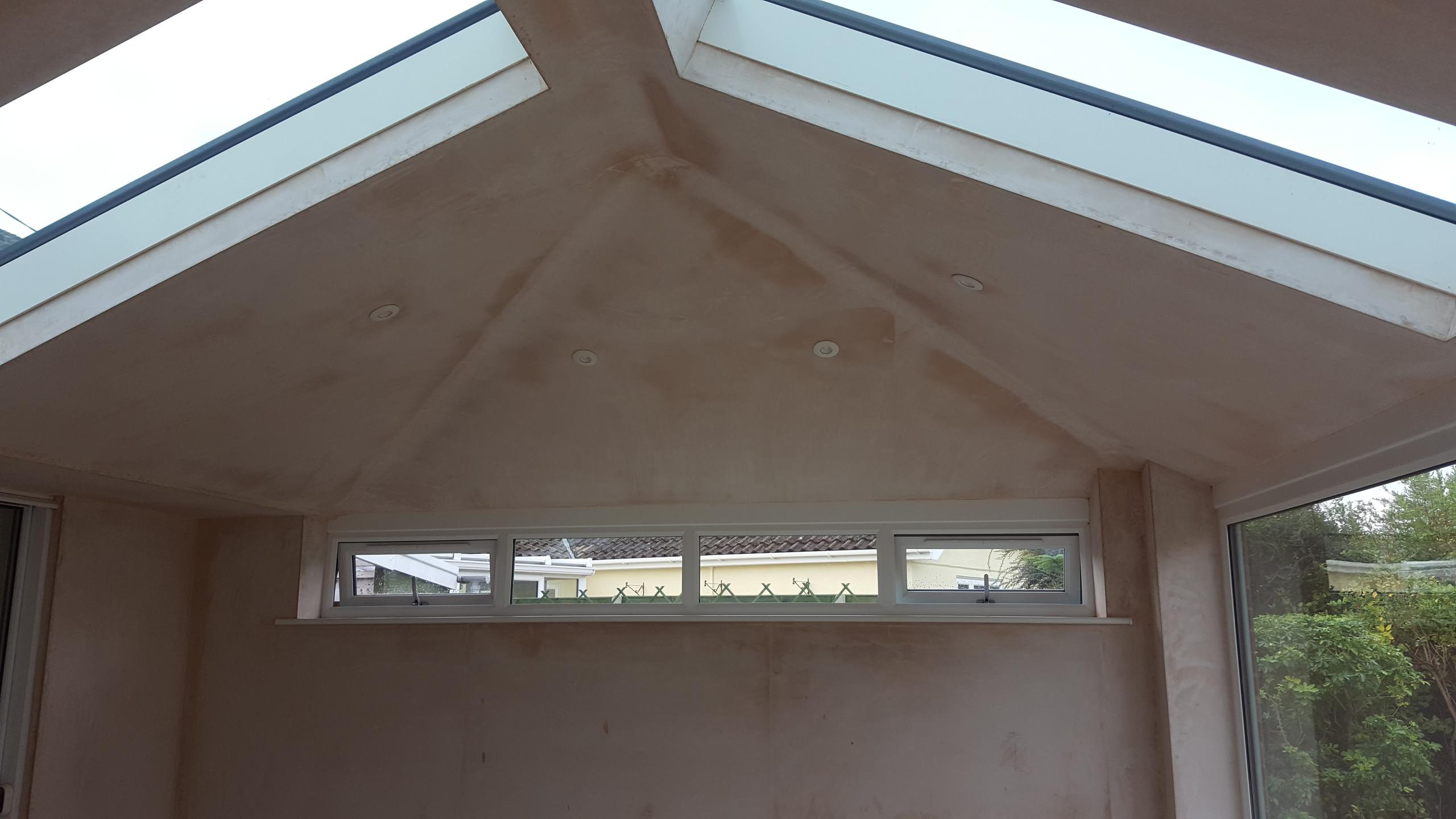 Roof Lights installed