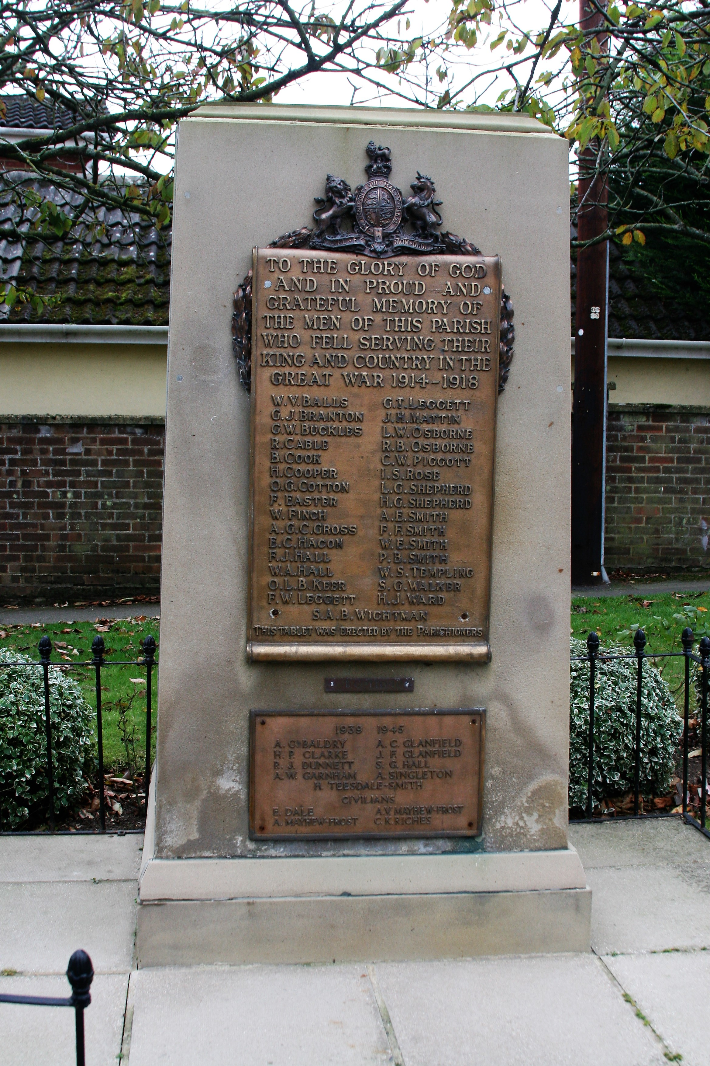 Wickham Market Memorial