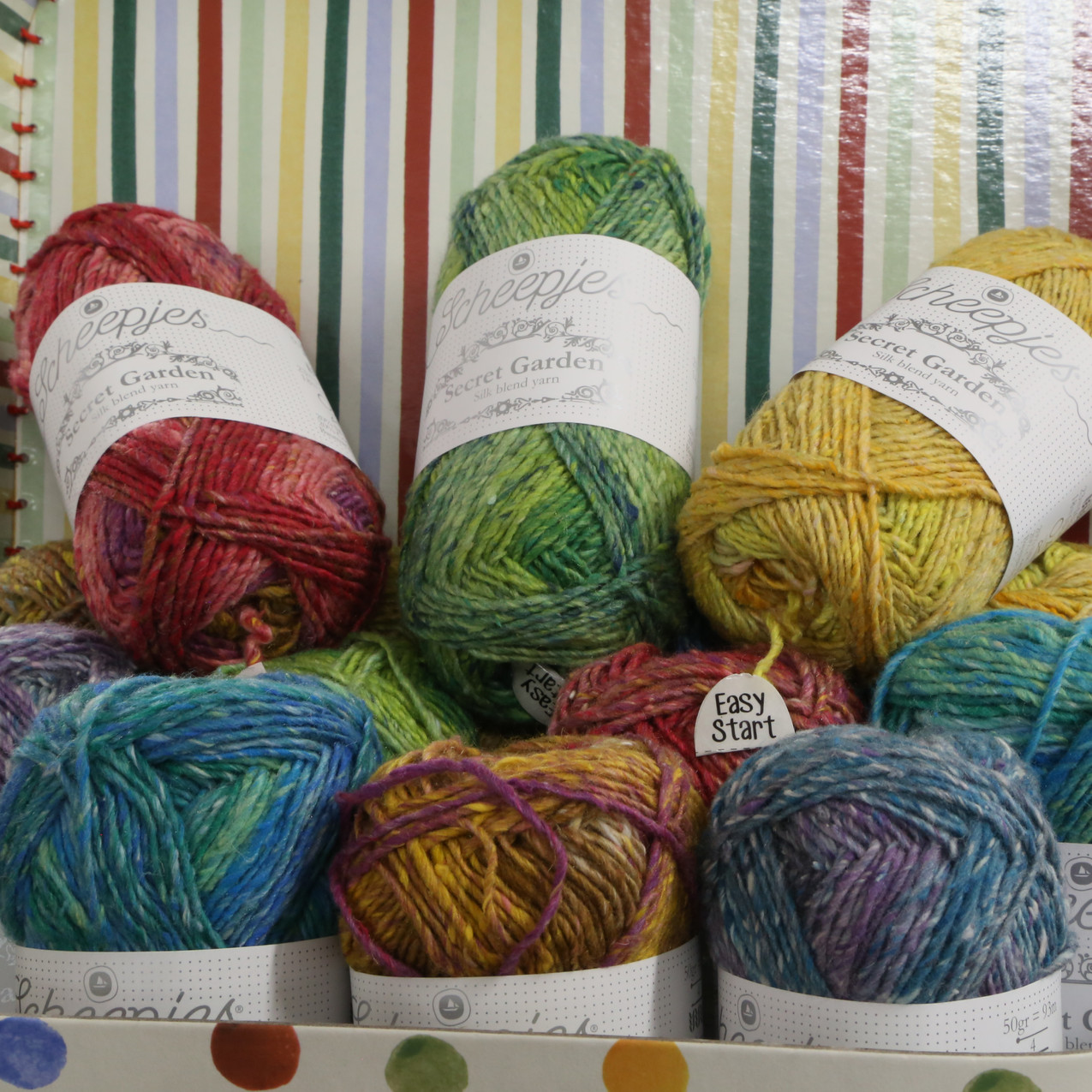 Sheepies secret garden wool