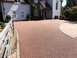 A super resin driveway