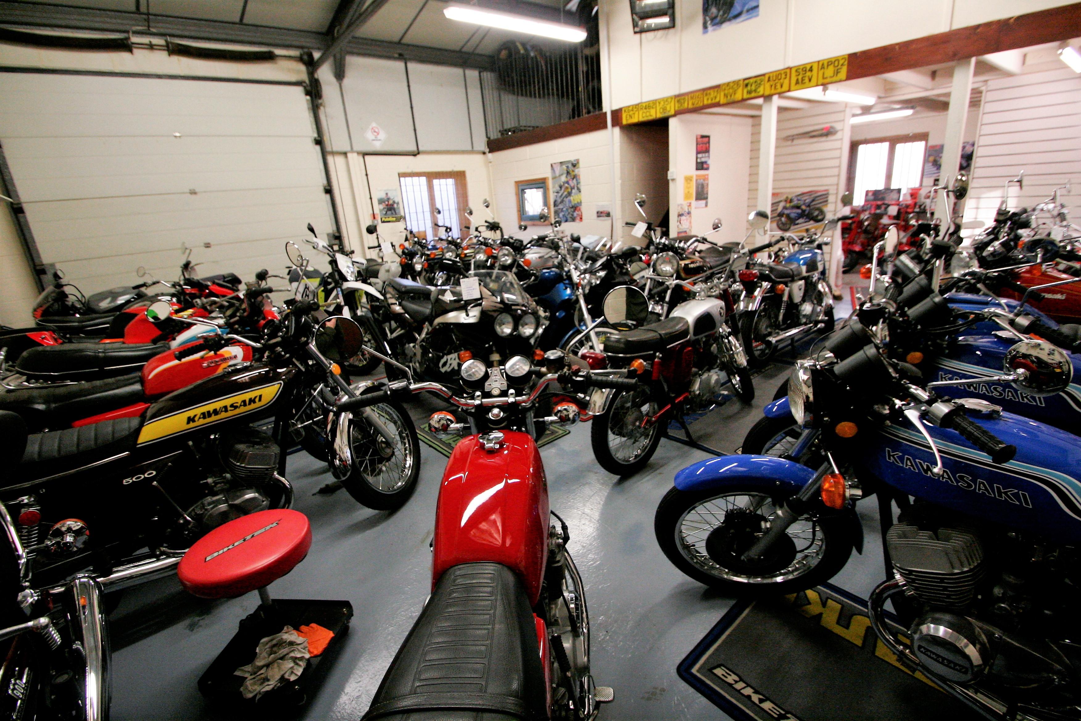 Unit 1 Motorcycle, Wickham Market