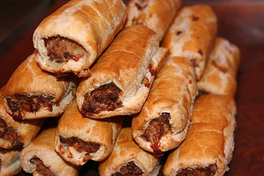 Best Sausage rolls Revetts of Wickham Market