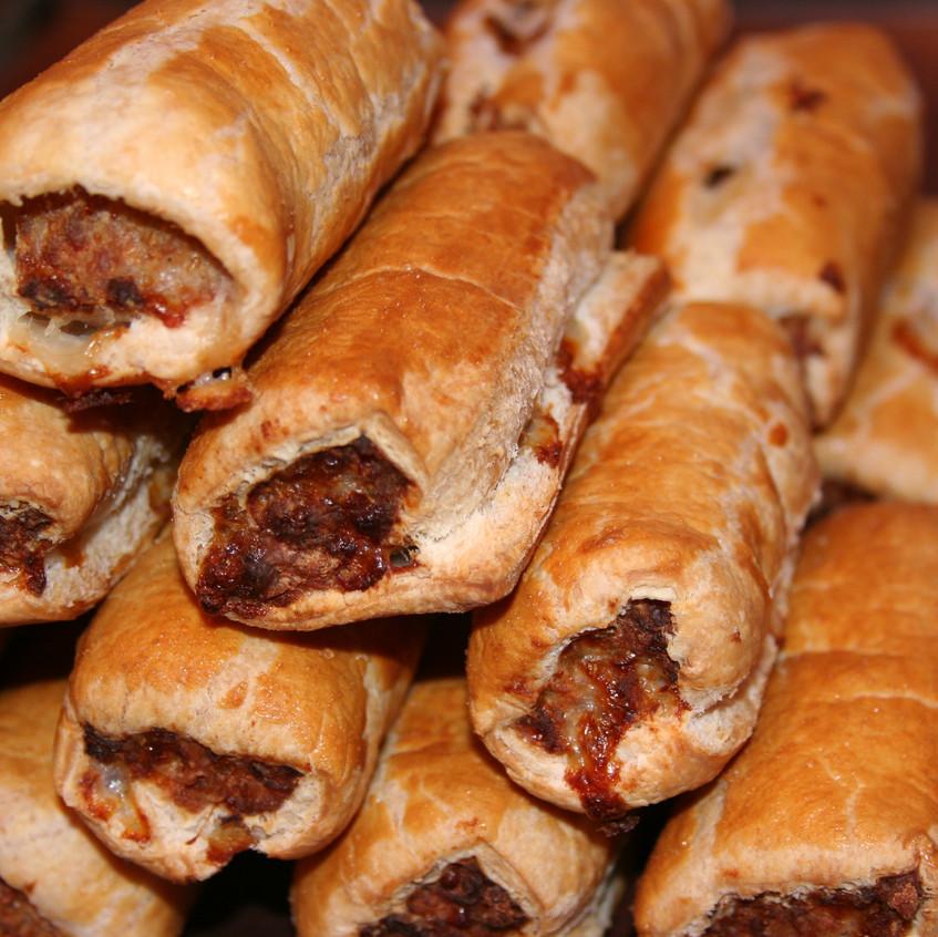 Hmmm sausage rolls