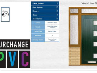 New interactive door design tool added to site