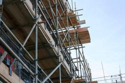 Tall scaffold