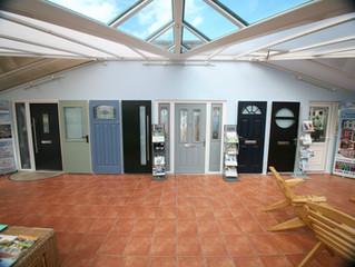 Colourchange UPVC showroom now has even more doors on display