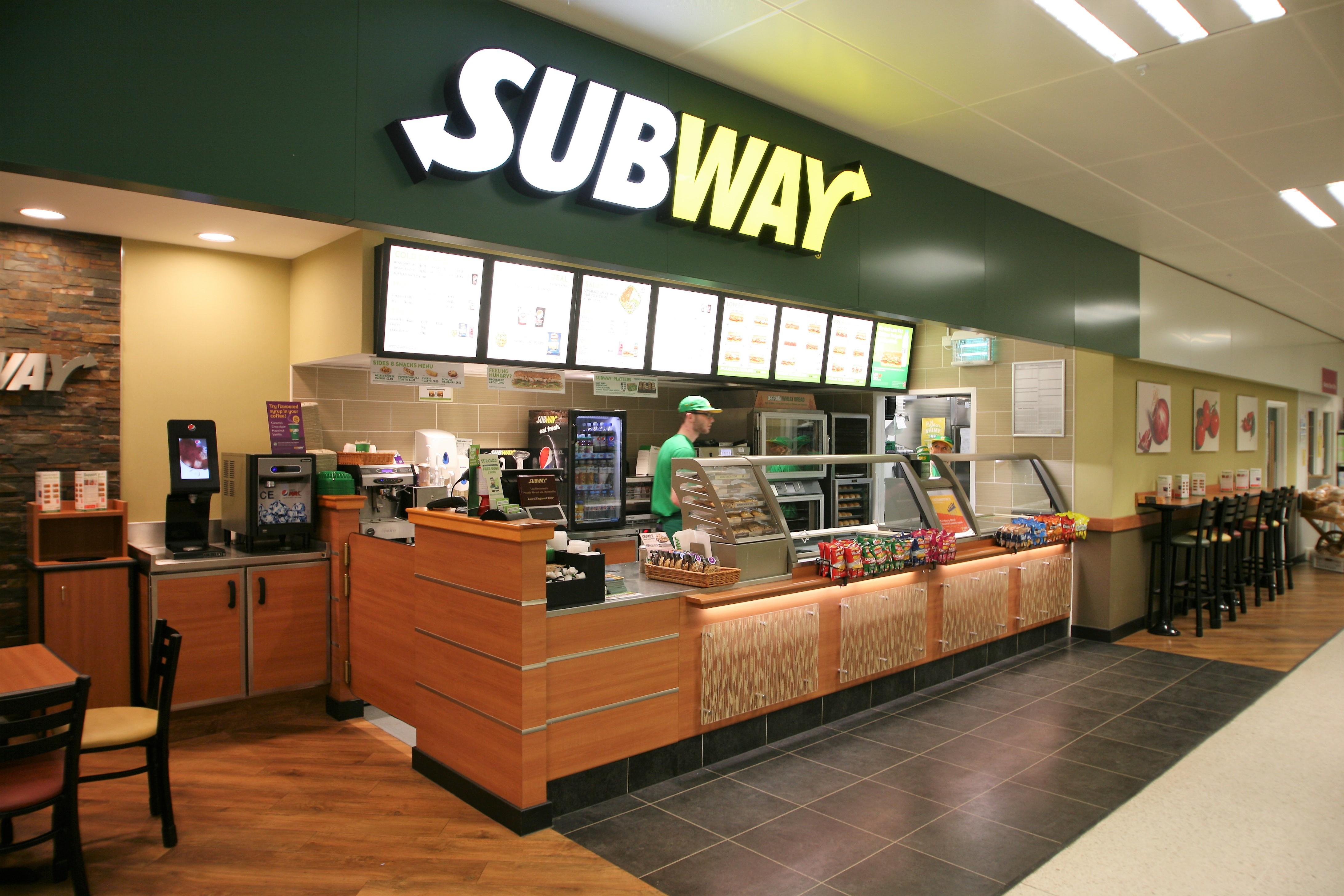 Subway, Wickham Market, Suffolk