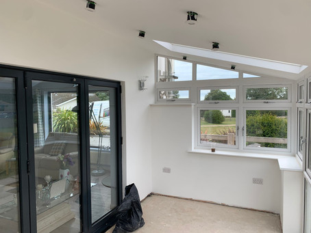 A new conservatory or insulated conservatory roof?