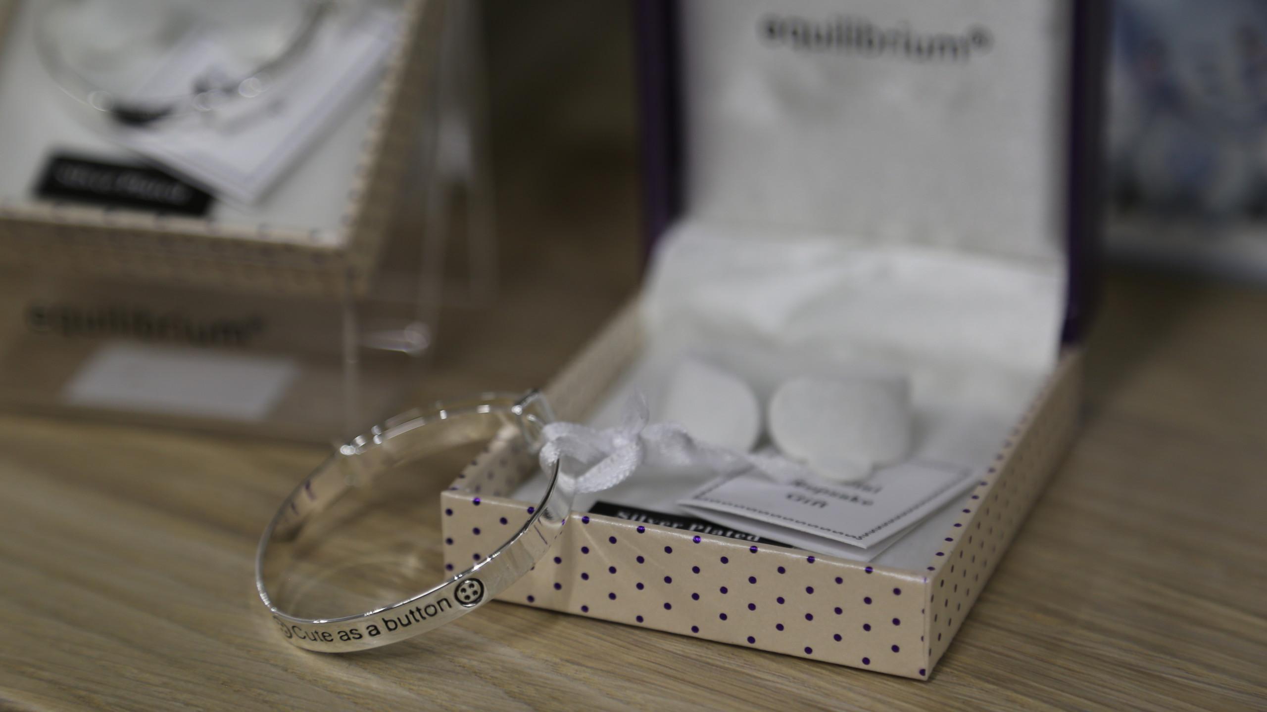 Chistening bracelet