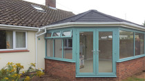 Another coloured conservatory project underway