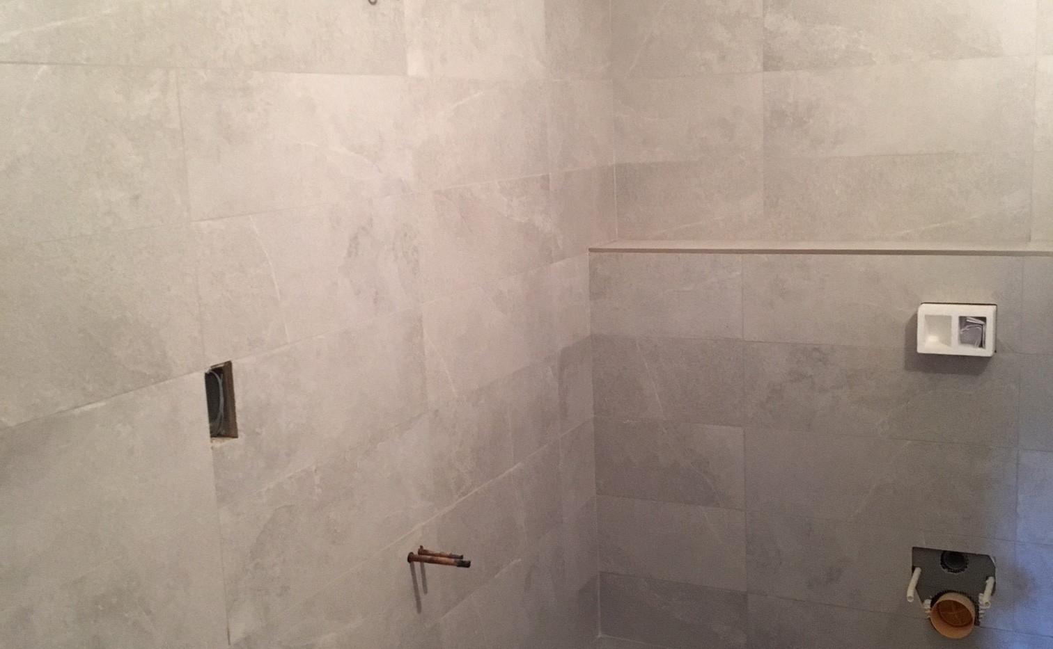 Room Tiled & Plumbed