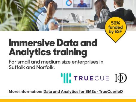 Half price Data and Analytics training