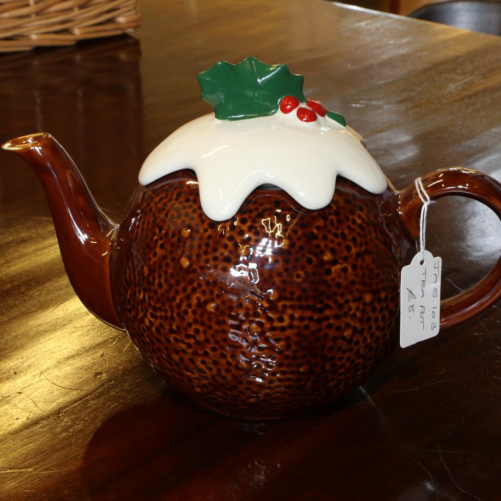 Christmas Pud Teapot