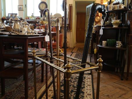 Brass Stick & Umbrella Stand - £165