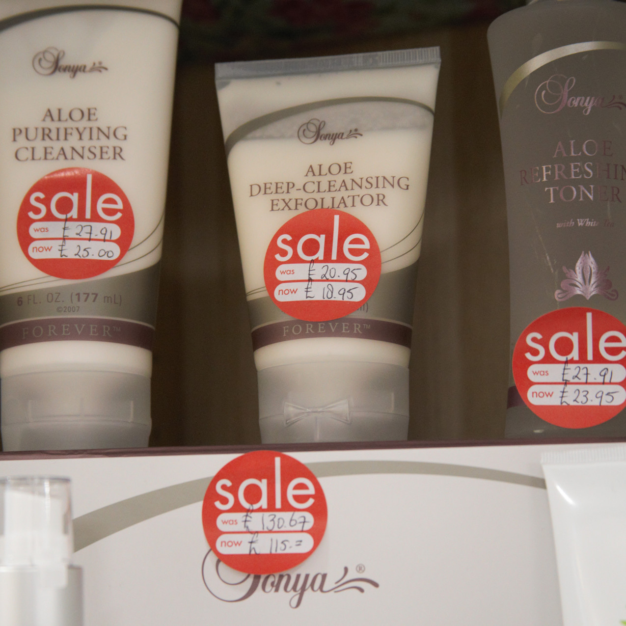 Sale prices on quality Aloe products