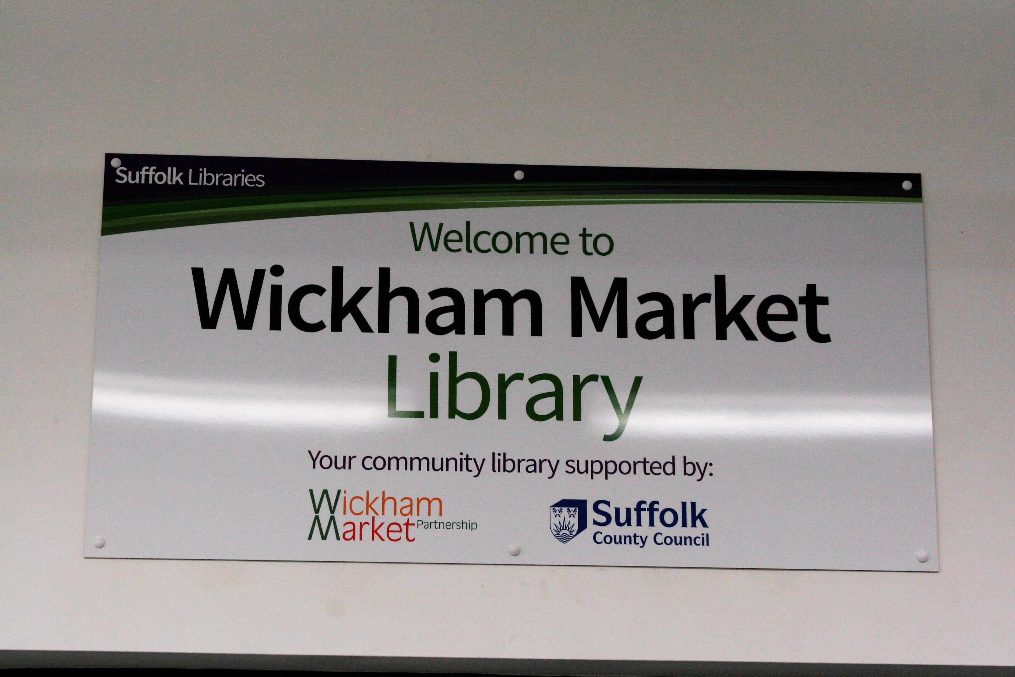 Wickham Market Library, Suffolk