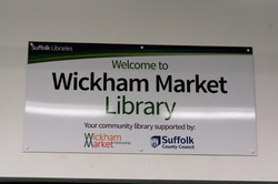 Wickham Market Library, Suffolk
