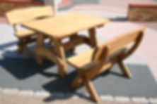 Seriously solid, quality garden furniture