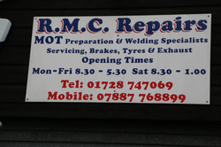 RMC sign