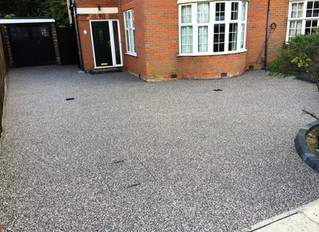 Some more recently installed resin driveways