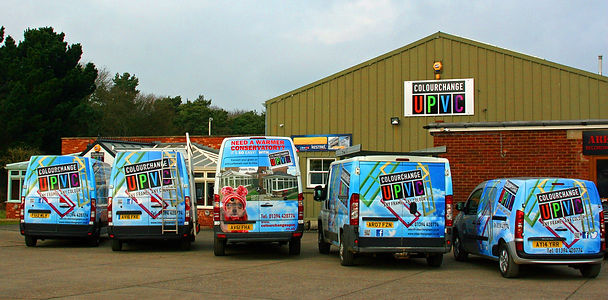 Colourchange uPVC Head Office and Showroom in Suffolk
