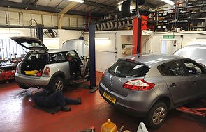 Vehicle repairs in Martlesham