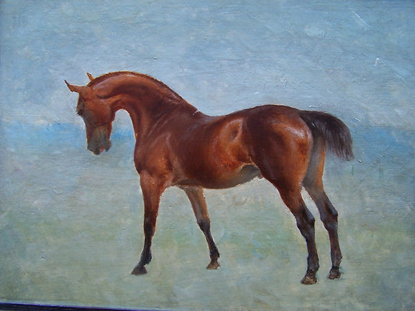 The Suffolk stallion Satan