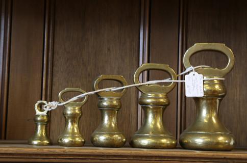 Brass Bell Weights - £95