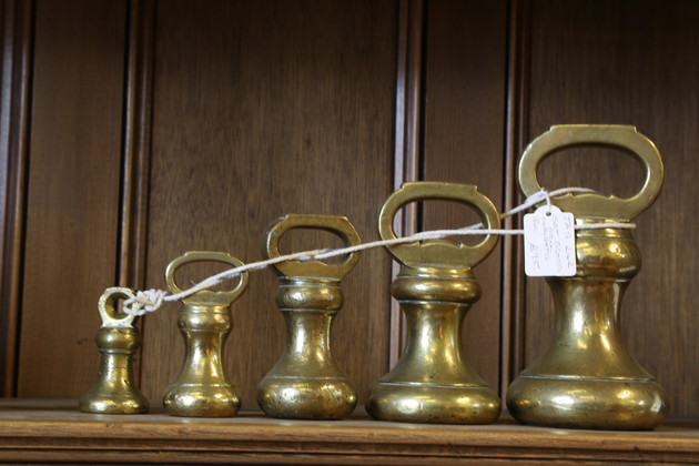 Brass Bell Weights - £95