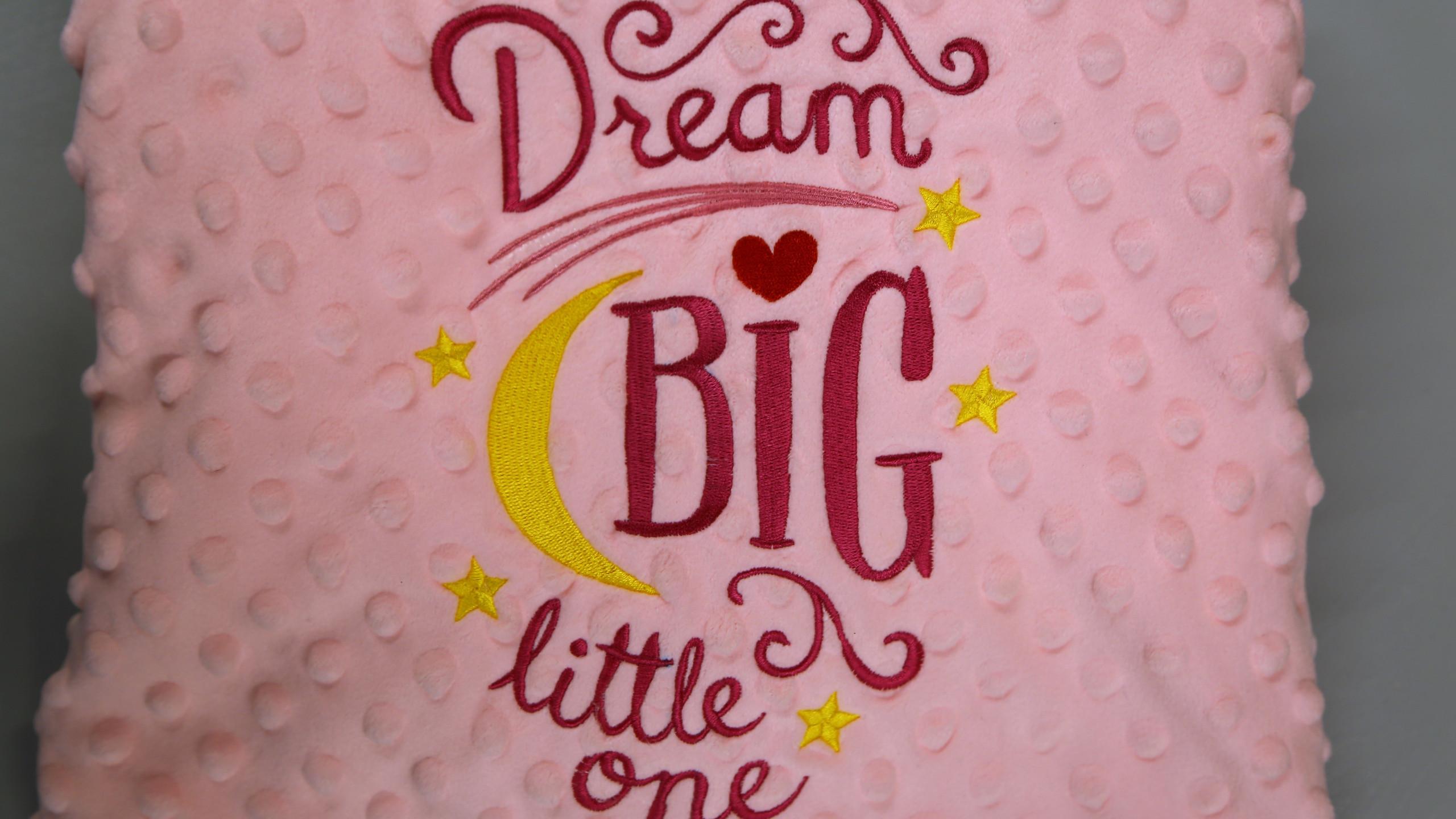 Dream Big pink