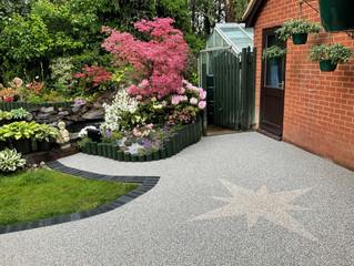 A patio to match a beautiful garden