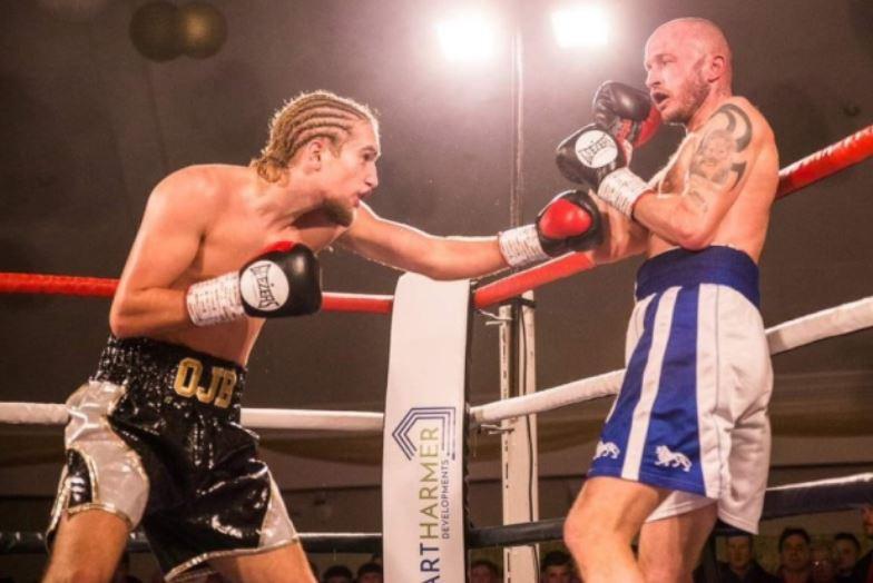 Owen Blunden boxing - picture by Mark Hewlett